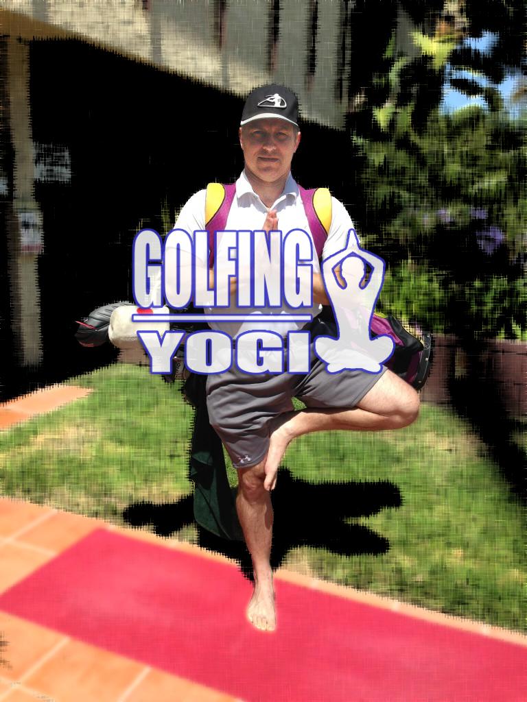 Golfing Yogi