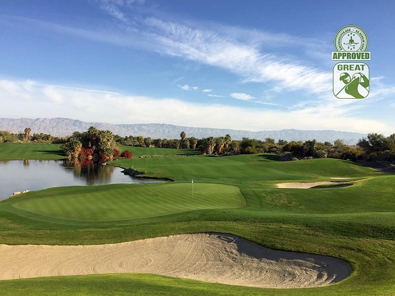 Desert Willow Golf Resort (FIRECLIFF) Palm Desert California. Hole 18