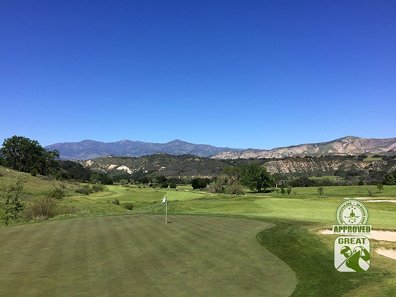 Rancho San Marcos Golf Course Santa Barbara California - Hole 12