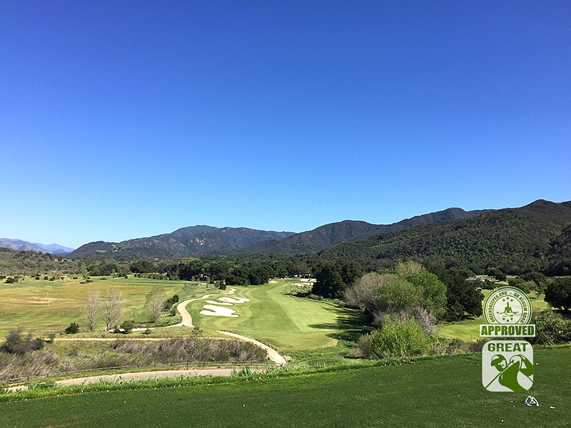Rancho San Marcos Golf Course Santa Barbara California - Hole 18
