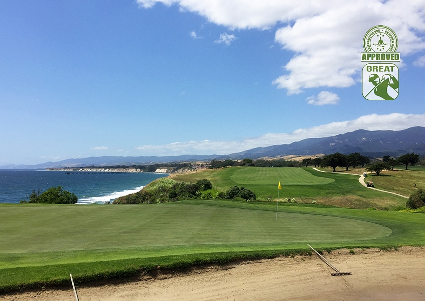 Sandpiper Golf Course Goleta California GK Review Guru Visit - Hole 13 Green-side