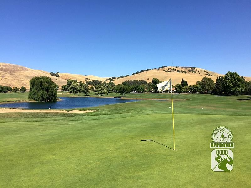 Paradise Valley Golf Course Fairfield California Hole 2