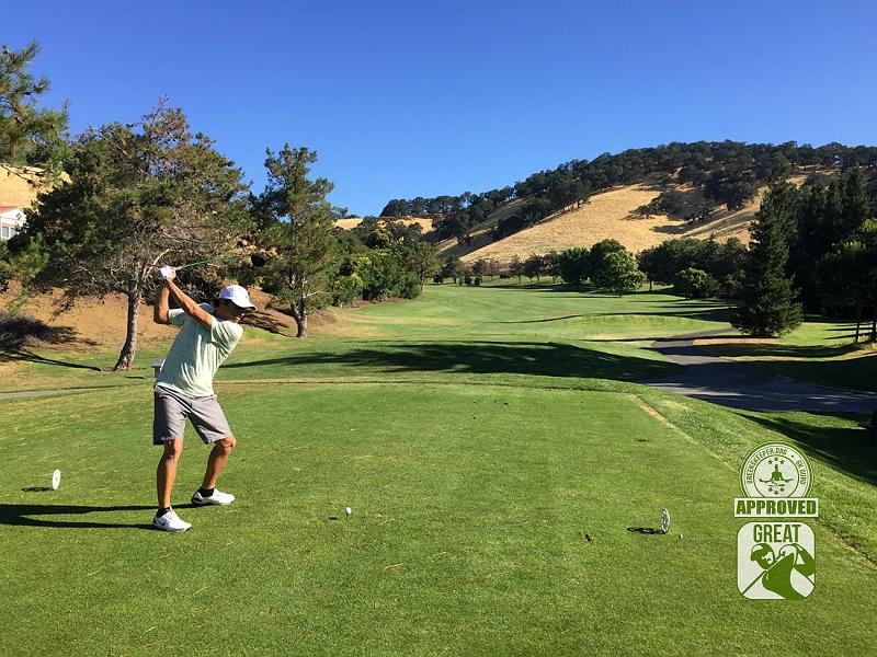 Rancho Solano Golf Course Fairfield California Hole 7