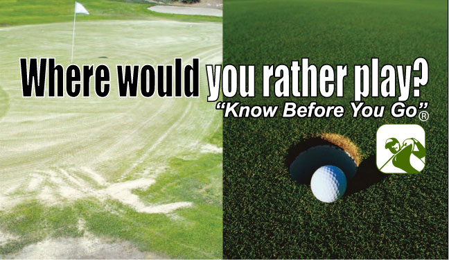 Where would you rather play? Know Before You Go with Greenskeeper.Org