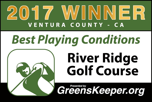 Best Playing Conditions 2017 River Ridge Golf Course - Ventura County